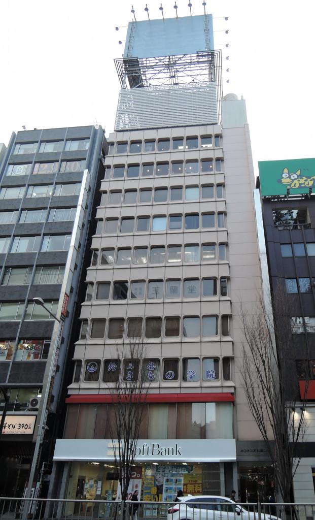 渋谷百瀬ビル、東京都渋谷区渋谷1-24-4、渋谷駅 徒歩6分