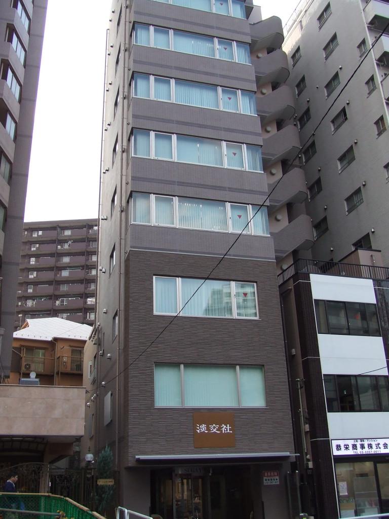 菅屋ビル、東京都新宿区市谷柳町39、牛込柳町駅 徒歩3分