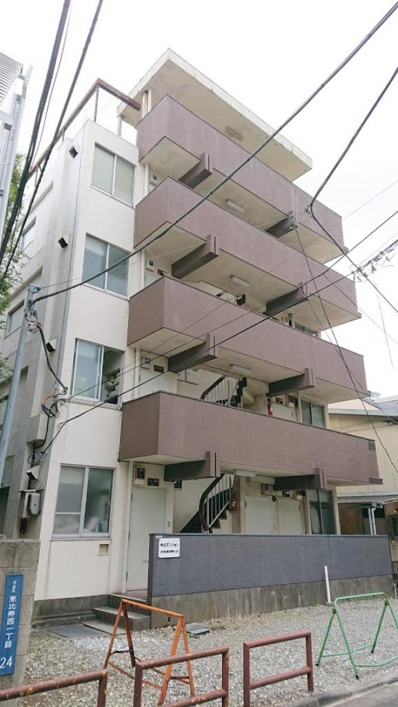 中山マンション、東京都渋谷区恵比寿西1-24-14、代官山駅 徒歩3分恵比寿駅 徒歩5分