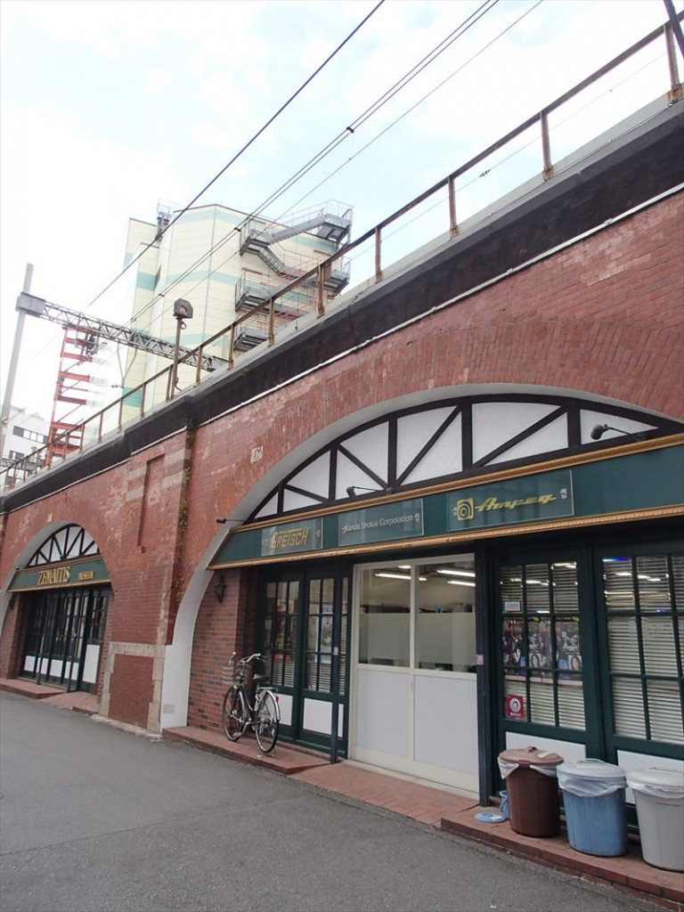 JR高架下倉庫・事務所 東京都千代田区鍛冶町2-20-15