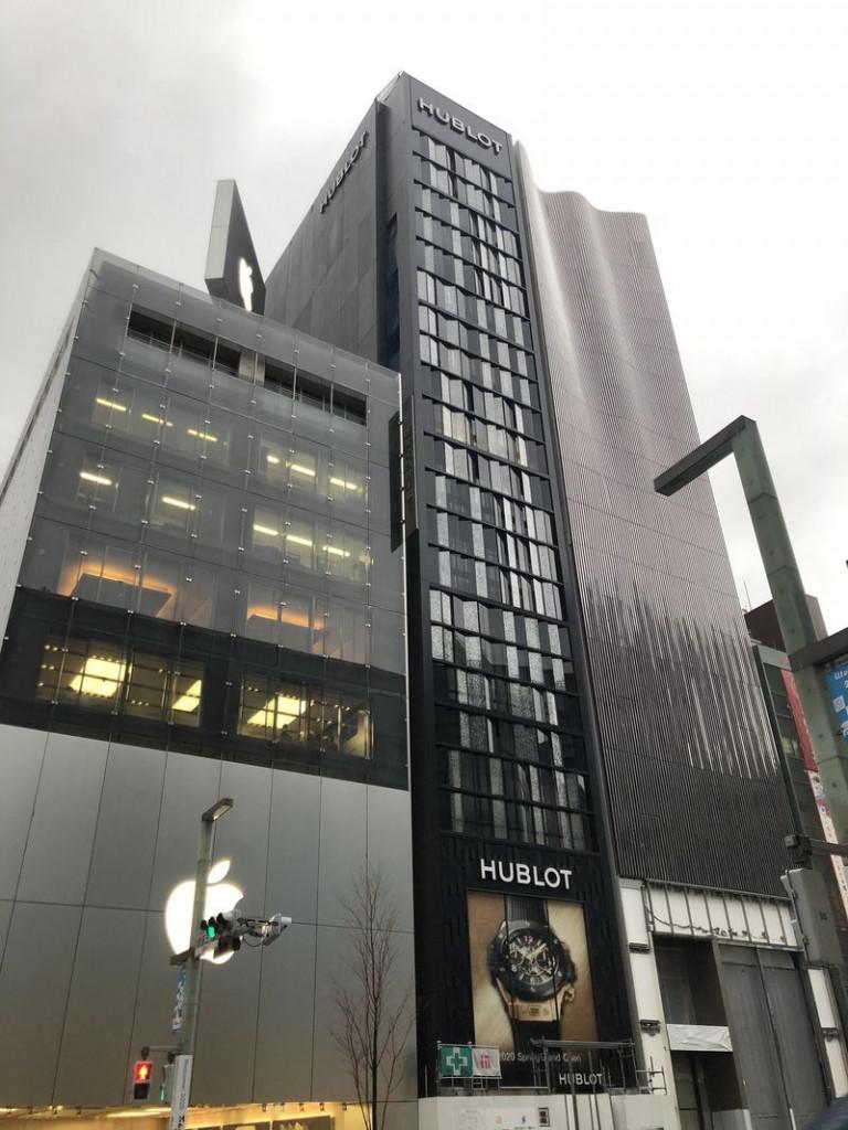 芝浦クリスタル銀座、東京都中央区銀座3-5、銀座駅 徒歩1分