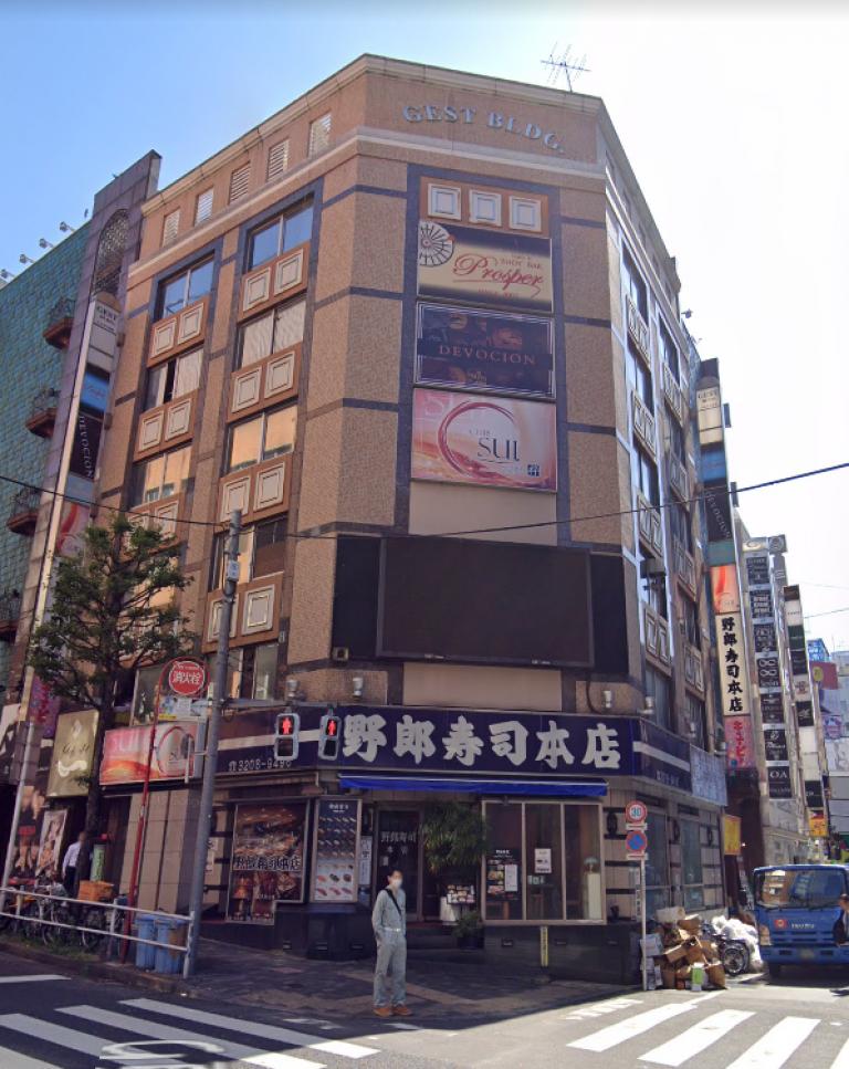 ジェスト2ビル、東京都新宿区歌舞伎町2-10-4、新宿駅 徒歩7分