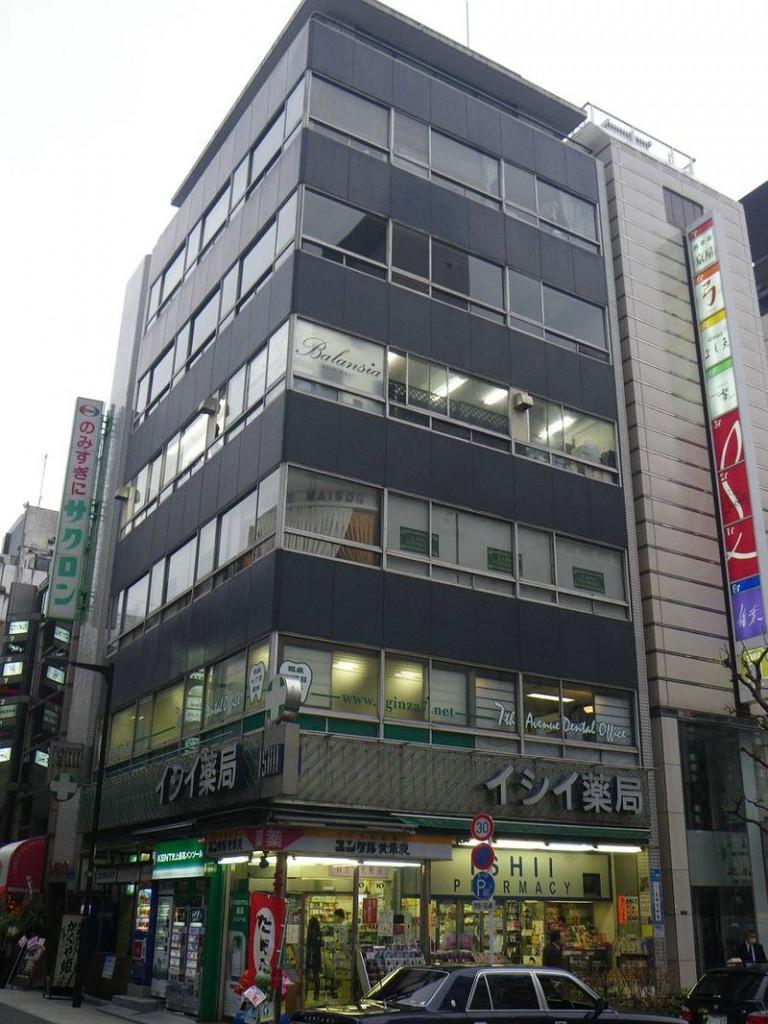 石井ビル、東京都中央区銀座7-6-2、銀座駅 徒歩5分
