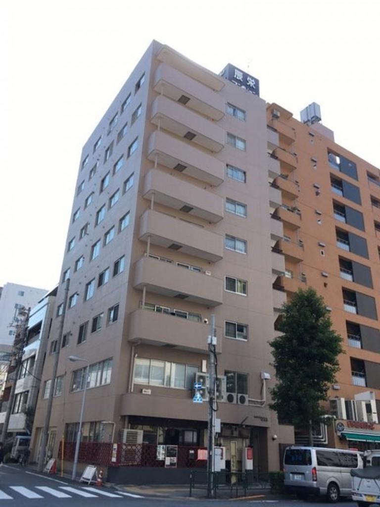 シンエイマンション第二蔵前、東京都台東区蔵前3-19-8、蔵前駅 徒歩1分
