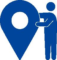 地域密着した営業でオフィス仲介業としては最多となる拠点数